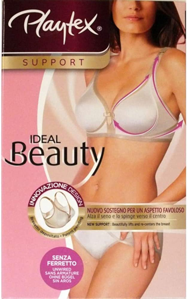 Playtex Reggiseno Senza Ferretto Coppa Morbida Ideal Beauty P02ZI