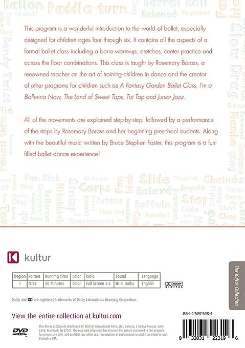 Amazon.com: Baby Ballet - Children's Dance: Rosemary Boross ...