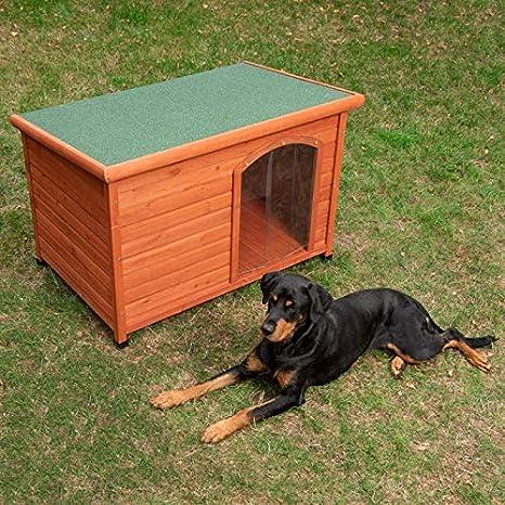 Caseta para Perros Woody L: 115 x 76 x 80 cm (An x P