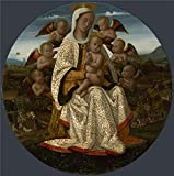 The polyster Canvas of oil painting 'Bernardino Fungai - Best Reviews Guide