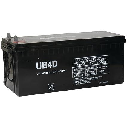 12v 200ah Solar Power Battery - Deep Cycle