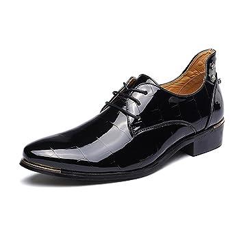 CAI Zapatos de Vestir de Cuero/Charol para Hombre Zapatos 2018 Zapatos de Vestir de Primavera/otoño/Invierno/Zapatos Formales Oxfords para Hombre ...