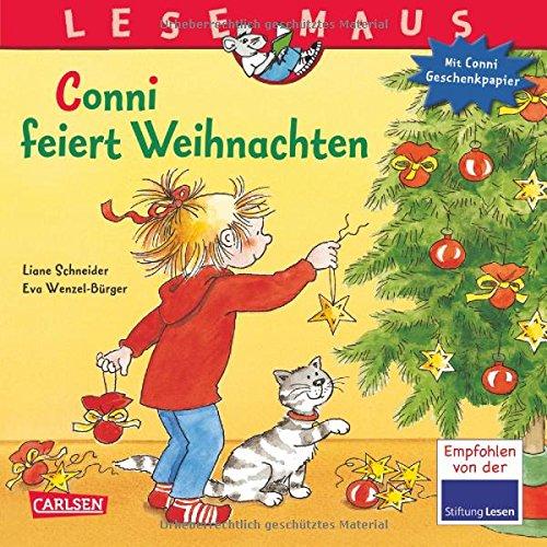 LESEMAUS, Band 58: Conni feiert Weihnachten: Mit weihnachtlichem Conni-Geschenkpapier!