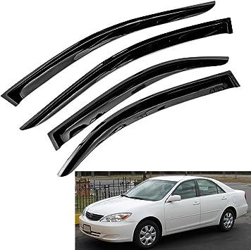 For 2002-2006 Toyota Camry Window Visors Sun//Rain//Wind Guard Shade Deflectors 4P