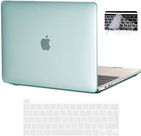 Oferta amazon: iNeseon Funda MacBook Pro 16 Pulgadas (Versión 2019 2020) con Touch Bar, Ultra Delgado Carcasa Protector Case Cover para Modelo A2141, Menta Verde