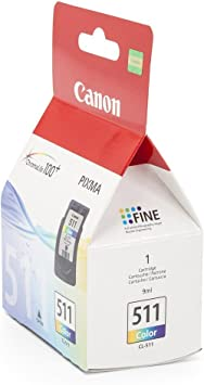 Canon Cl 511 Tintenpatrone Bürobedarf Schreibwaren
