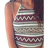ABC® Women Boho Tank Tops Bustier Bra Vest Crop Bralette Cami
