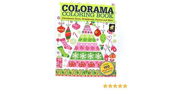 Amazon Colorama Coloring Book Christmas