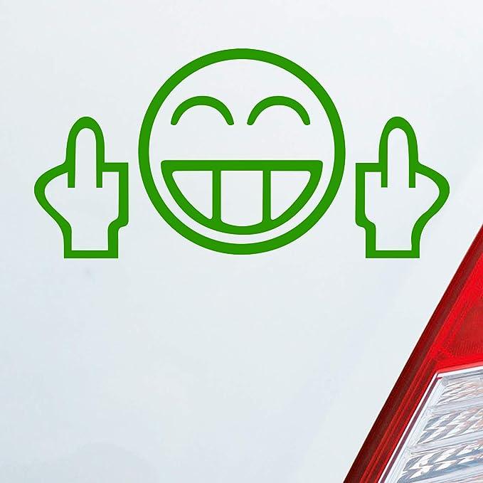 Car Sticker Smiley Fuck You Funny Shocker Jdm Dub 13 5 Cm Car Sticker Film Auto