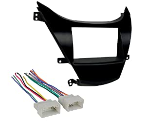 Hyundai Elantra 2011-2013 In-Dash Single/Double DIN Dash Install Kit