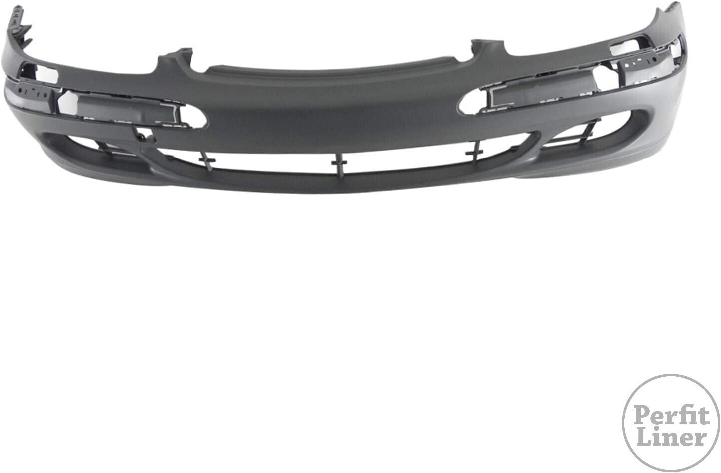 Perfit Liner Front Gray Primed Bumper Cover Compatible With MERCEDES Benz W220 S Class S350 S430 S500 S600 W//O Sport Package W//O Head Lamp Washer Hole Fits MB1000196 2208800640