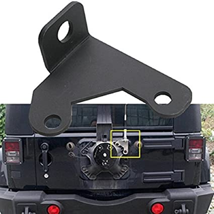 U Box Jeep Wrangler CB Antenna Spare Tire Mount For 2007 2018 Jeep JK