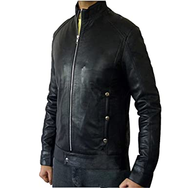 40d1ddc80 Fashion Tribe Dark Fields Black Leather Bradley Cooper Jacket at ...