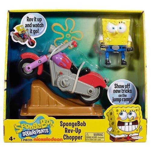 SpongeBob Squarepants RevUp Chopper Playset Jakks
