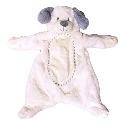 Kelly Toy Baby 16 inch Plush Flattie Puppy Dog with Crinkle and Rattle: Toys & Games