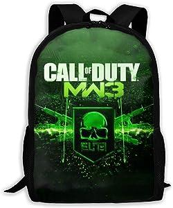 Unisex Kids Schoolbags Call MW Duty Backpack For School Girls Boys Daypacks Rucksack Zipper