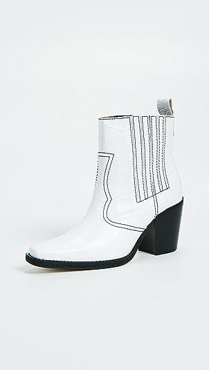 Ganni Women's Western Boots