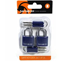 Samsonite Travel Accessor. V - Safe Key Lock (Set of 2) Gepäckschloss