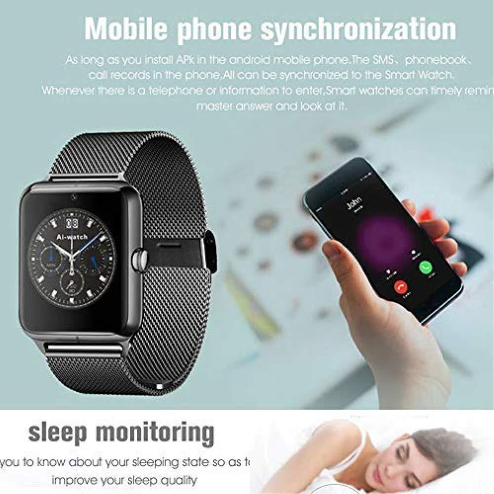 Smart Watch, 2019 Bluetooth Watchwatch actualizado con Pantalla ...