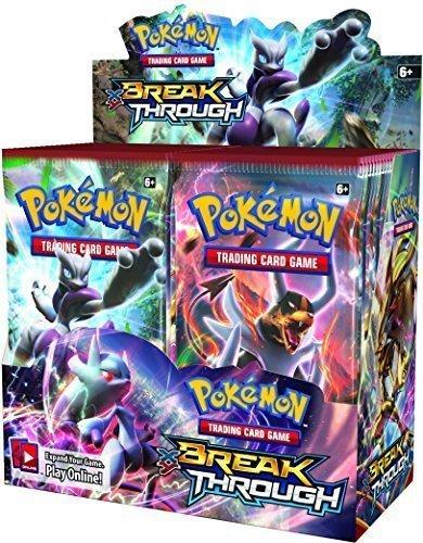 Pokemon XY8 Breakthrough Booster Box! - TCG English Card Game from Pokemon