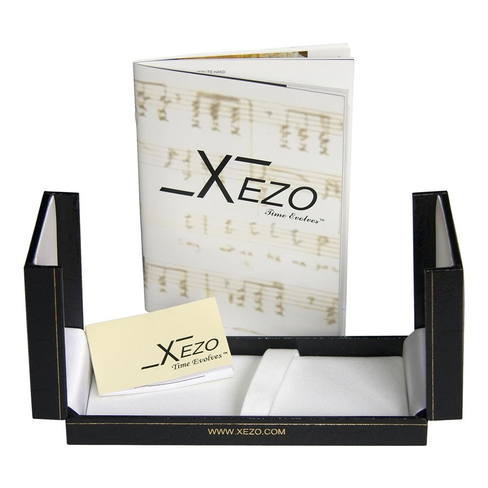 Xezo Maestro Iridescent Natural Black Mother of Pearl Platinum Plated Fine Fountain Pen. No Two Pens Alike by Xezo (Image #6)