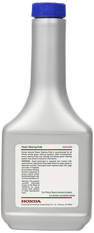 Genuine Honda Fluid 08206-9002 Power Steering Fluid - 12 oz