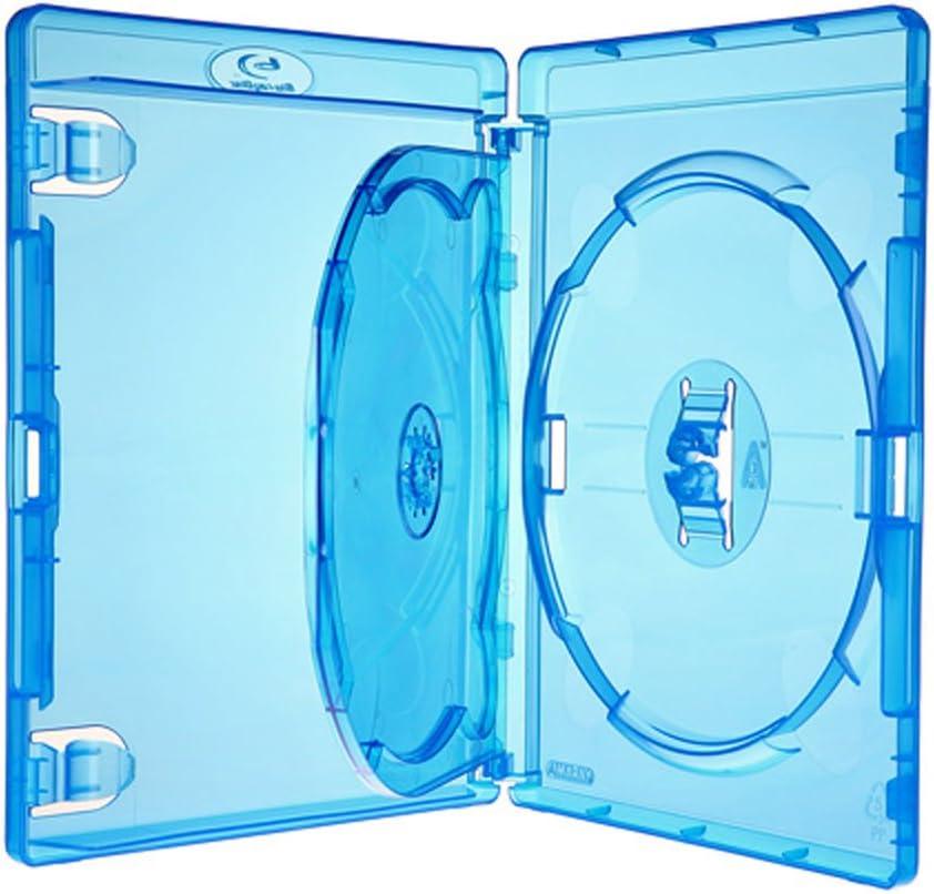 Amaray Bluray Hülle Mit Einleger Für 3 Disc Dvd Blu Ray Computer Zubehör