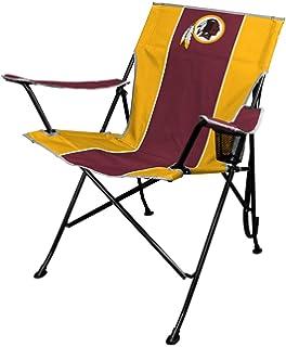amazon com nascar logo folding tailgate chair sports outdoors