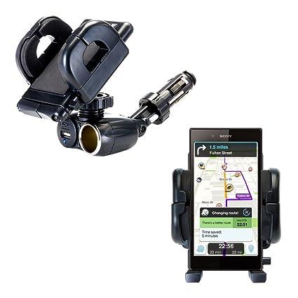 Amazon.com: USB Dual/12 V Cargador de coche soporte de ...