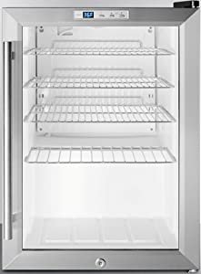 Summit ApplianceSCR312L Countertop Beverage Refrigeration, Glass/Black