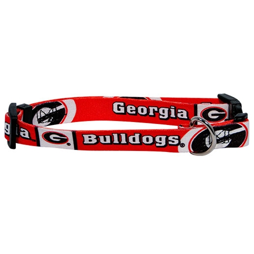 Hunter MFG Georgia Bulldogs Dog Collar, Extra Large