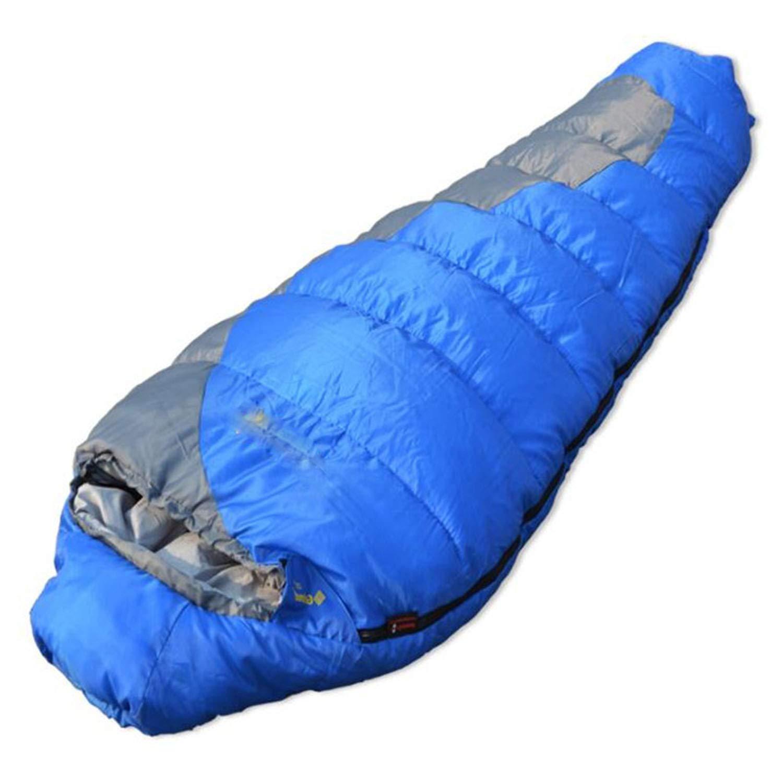 Saco de Dormir de Exterior para Adultos y Ni/ños para Invierno gipfelsport Saco de Dormir Momia Oto/ño y Primavera