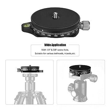 RONSHIN TPC60 - Cabezal de trípode para cámara réflex Digital (360 ...