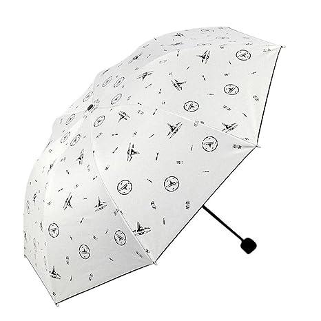 Amazon.com : Cinhent Umbrella, 2018 Newly Print Folding Parasol Portable Vented Sun/Rain Fashion Umbrella for Girls Boys Outdoor Durable Travel - UV ...