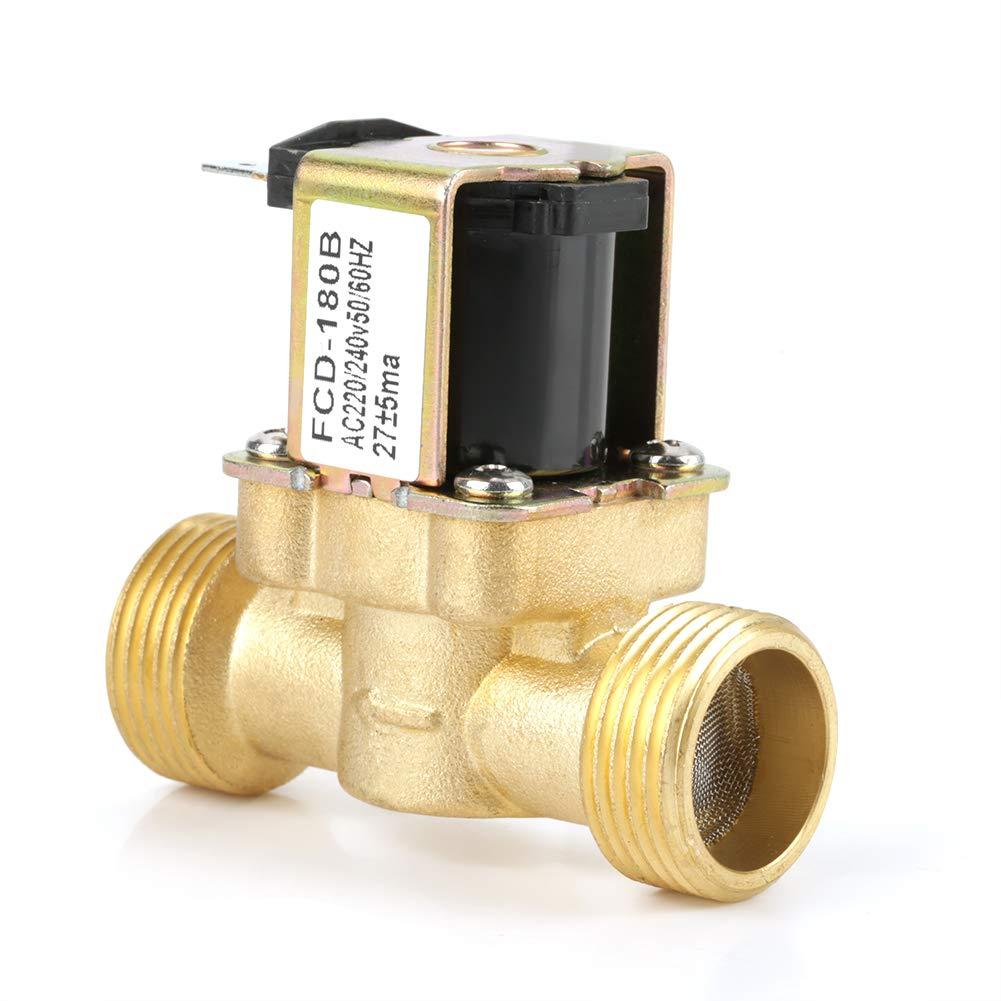 240V FCD-180B Akozon Vanne /électromagn/étique /électrique ferm/ée normale /à CA 2N