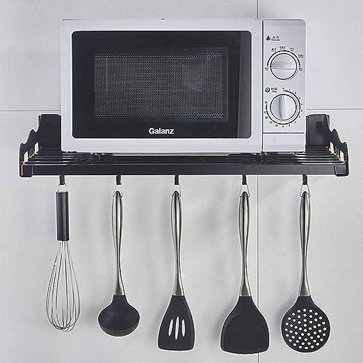 Estanterías para horno microondas Montado en la pared del horno ...
