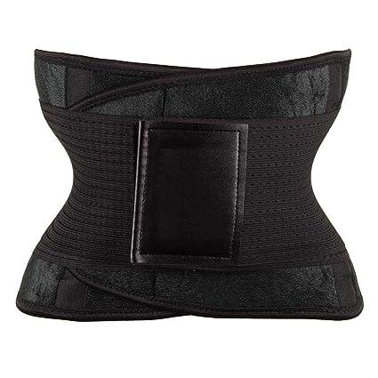 5b742822ce5 Women Waist Trainer Belt Belly Band Belts Body Shaper After Birth Slim Belt  Corset Postpartum Tummy Trimmer Body Fat Burne Color Dark Grey Size L  ...