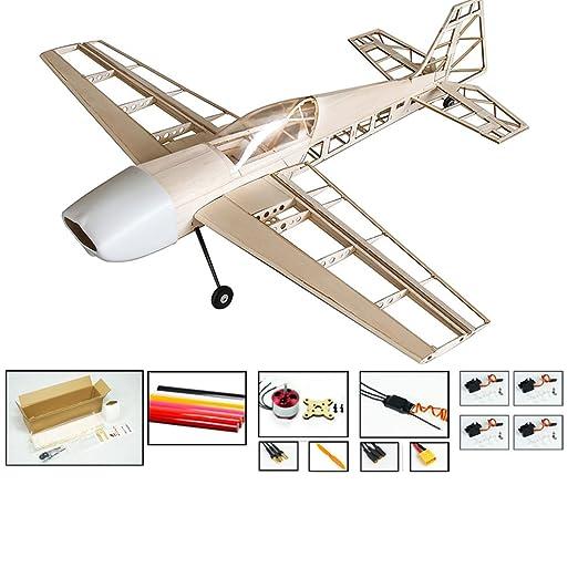 amazon com dw hobby s13 balsa wood electric building airplane rh amazon com