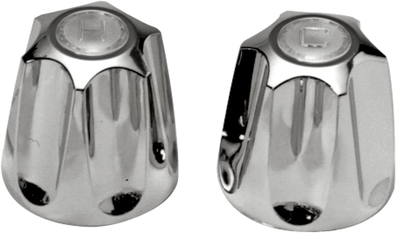 Danco (80457) Pair of Faucet Handles for Price Pfister Verve Tub/Shower, Chrome|Metal 61b2BxHrt1RL
