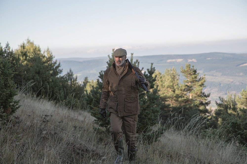 Amazon.com: Percussion Rambouillet Hunting Jacket - Khaki Green: Sports & Outdoors