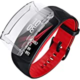 Amazon.com: Samsung Gear Fit2 Pro Screen Protector Case,JZK ...