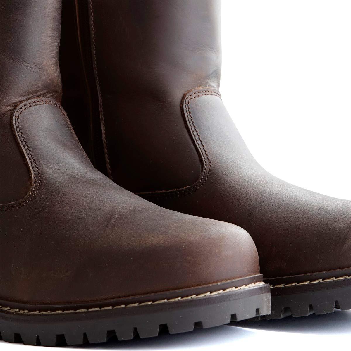 Travelin' Gravvik Herren Outdoorstiefel aus Leder Leder Leder - Wasserdicht & 100% Wolle Gefüttert   Braun f7605c