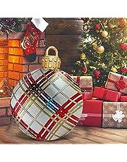 Kerst opblaasbare decoratie bal, 23. 6 inch PVC Opblaasbare Kerstbal Opblaasbare ballen for huis Outdoor Christmas Decor