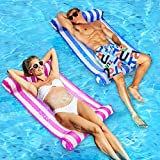 Inflatable Pool Floats, 2 Pack Multi-Purpose