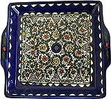 Holy Land Market Armenian Ceramic Jerusalem Flowers