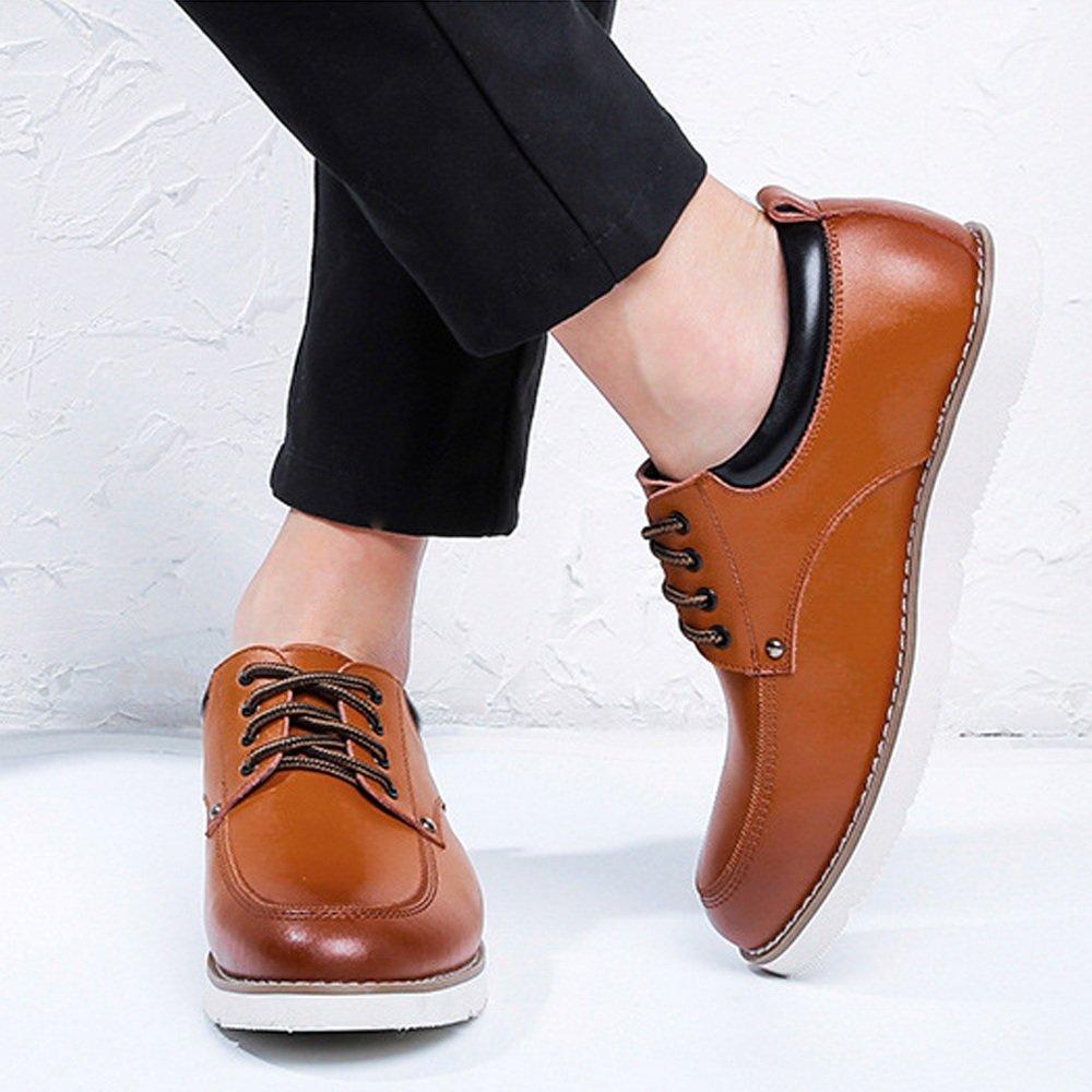 XIANGBAO-Persönlichkeitsfall Lace Up Loafers Loafers Loafers PU-Leder-beiläufige Geschäft weiche Ebenen-Sohle Oxfords  15c1ee