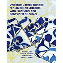Amazon james g mitchell books evidence based practices for educating students with emotional and behavioral disorders fandeluxe Images