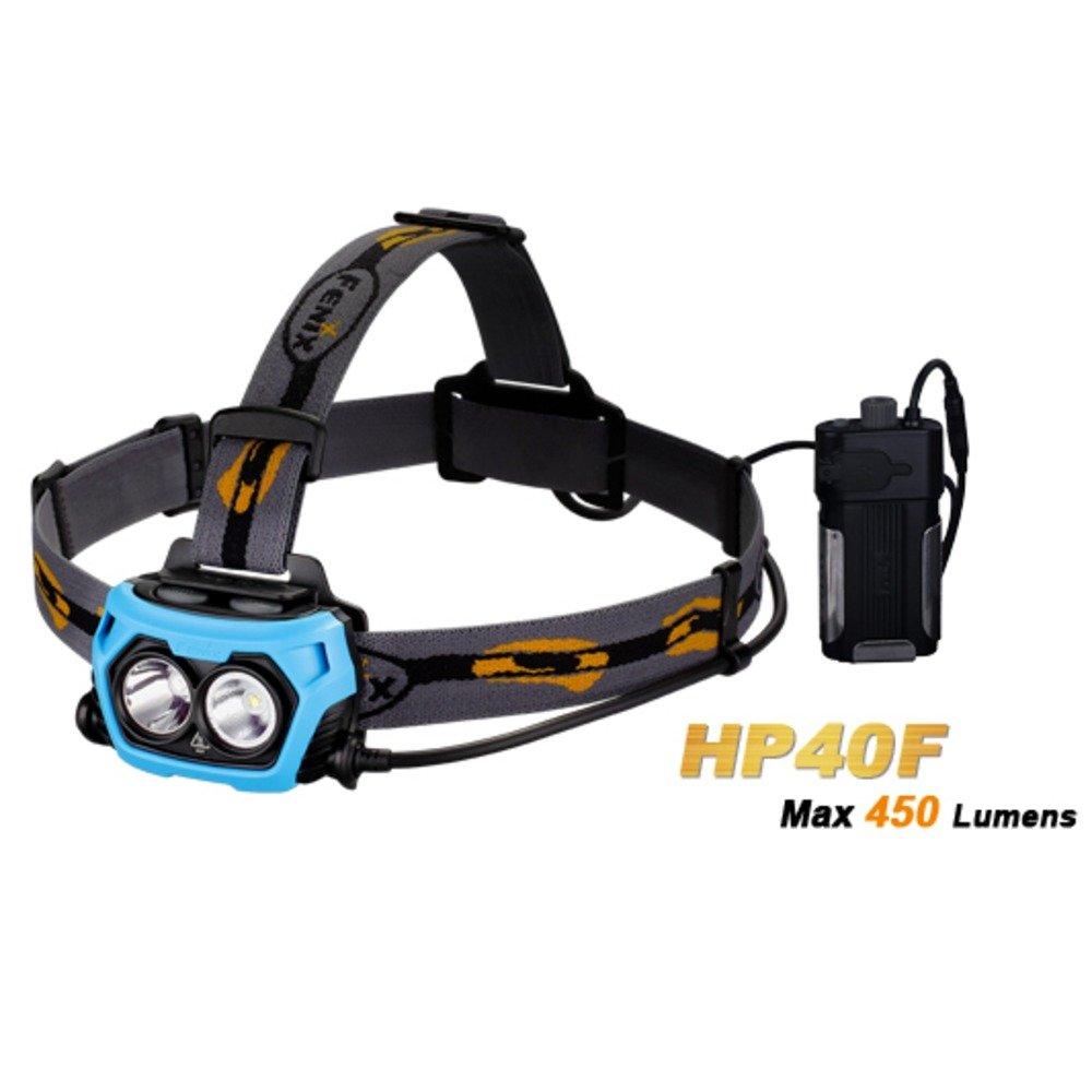 Fenix HP40 F Headband Flashlight LED Multicolour Flashlight – Flashlights (Headband Flashlight, Multicolour, Aluminium, Plastic, IPX6, 1 m, 2 Lamp (S))