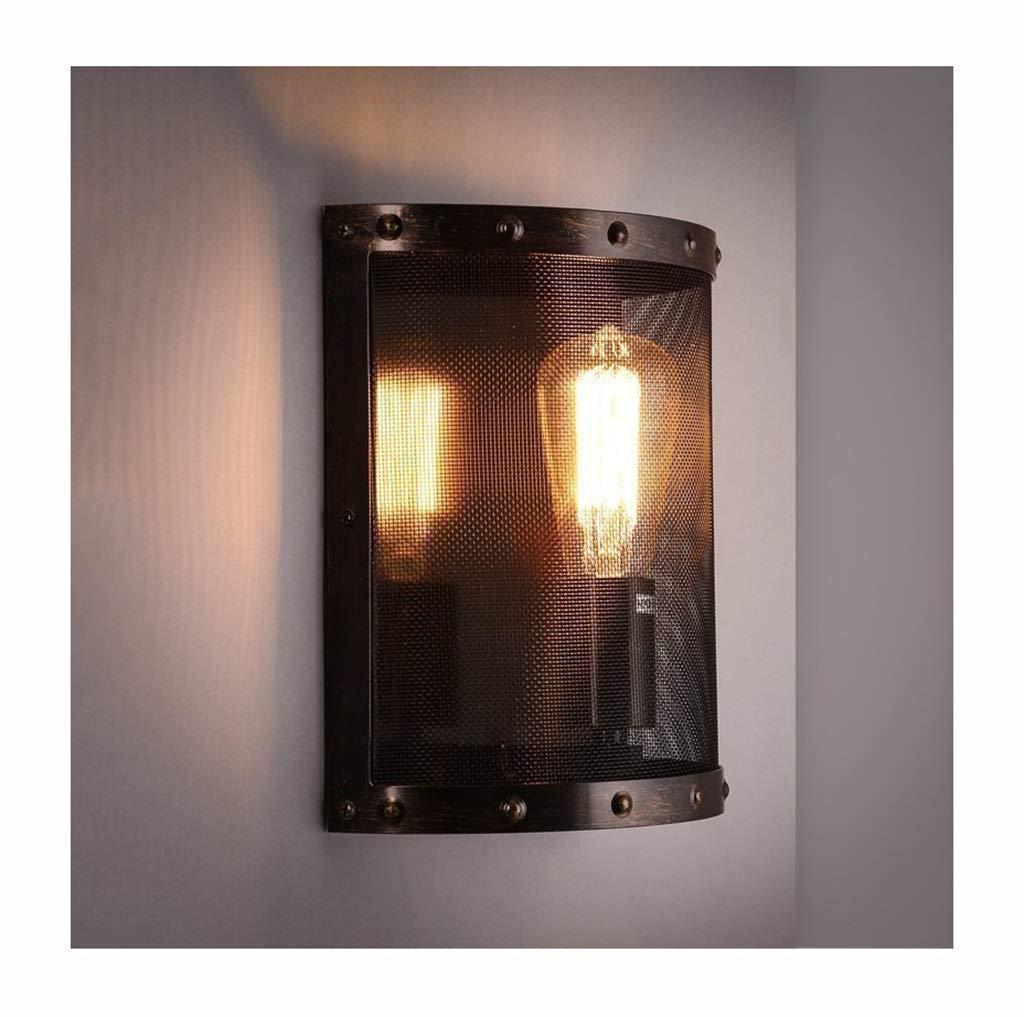 Wandleuchte lampe Wandleuchte Industrie Wind E27 Eisen Net Stairway Korridor Bar Restaurant Wandleuchte
