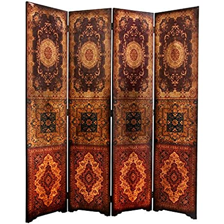 Oriental Furniture 6 Ft Tall Olde Worlde Baroque Room Divider